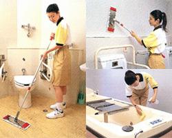 介護施設内清掃スタッフ募集
