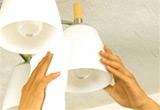 照明器具クリーニング