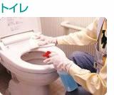 トイレクリーニングの内容